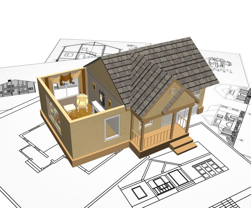 Typehus & arkitekttegnet hus